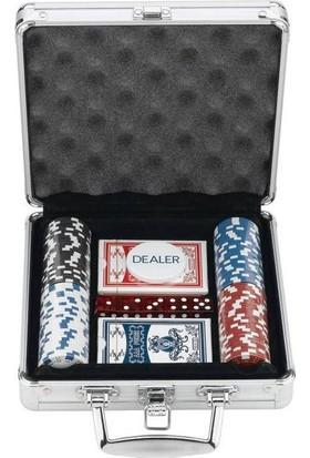 Toptancıamca Poker Chip 96 Parça Oyun Seti