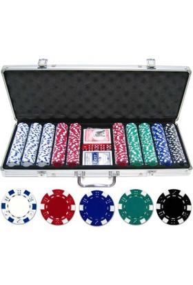 Toptancıamca Çantalı Poker Fişi 300 Chip Set