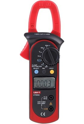 Unı-T Ut 204A Ac/ Dc 600A Pensampermetre