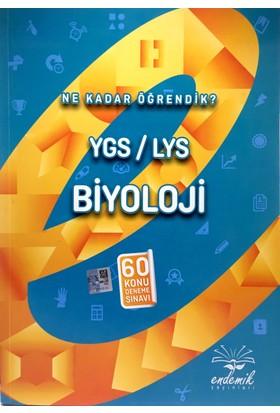 Ygs-Lys Biyoloji 60 Konu Deneme Sınavı