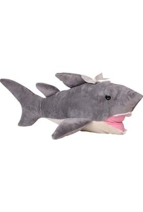 Hdm Peluş Oyuncak Köpek Balığı 60 cm Balık Kızgın