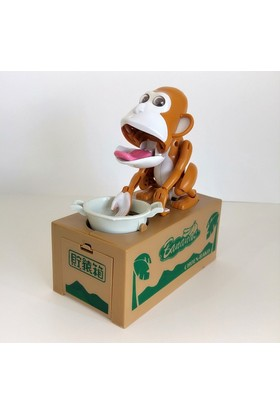 Hdm Oyuncak Maymun Para Yiyen Kumbara