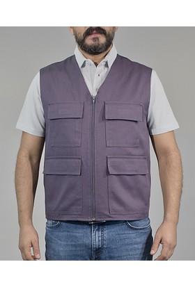 İş Yeleği Yazlık Dört Cepli Yelek İş Elbiseleri Erkek Yelek