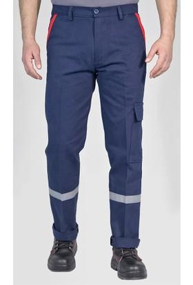 Kışlık Reflektörlü Komondıo Cepli İş Pantolonu İş Elbiseleri
