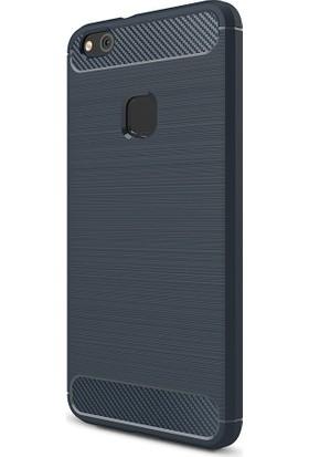 Kny Huawei P10 Kılıf Ultra Korumalı Room Silikon + Cam