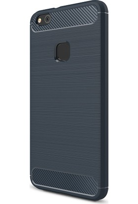 Kny Huawei P10 Plus Kılıf Ultra Korumalı Room Silikon + Cam