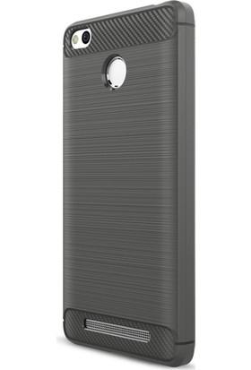 Kny Xiaomi Redmi 3 Pro Kılıf Ultra Korumalı Room Silikon + Cam