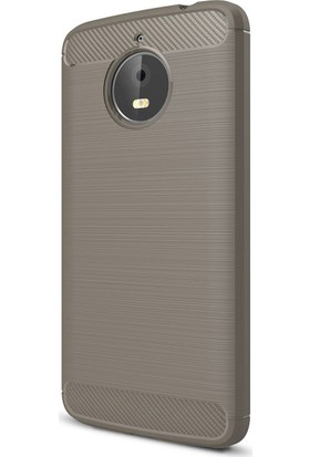 Kny Lenovo Moto E4 Plus Kılıf Ultra Korumalı Room Silikon + cam