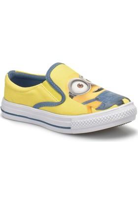 Minions A3336322 Sarı Erkek Çocuk Slip On Ayakkabı