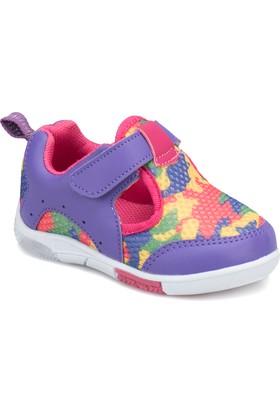 I Cool Becko Mor Pembe Kız Çocuk Sneaker Ayakkabı