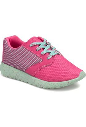 I Cool Base Fuşya Mavi Kız Çocuk Sneaker Ayakkabı