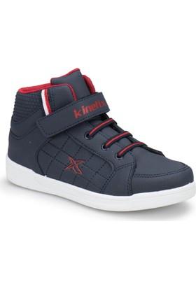 Kinetix Lenko Hi Pu Lacivert Kırmızı Erkek Çocuk Sneaker Spor Ayakkabı