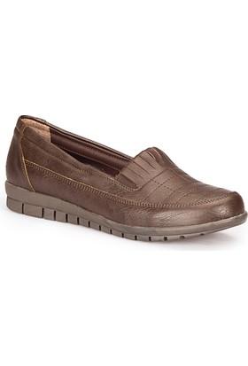 Polaris 72.158014.Z Siyah Kadın Loafer Ayakkabı