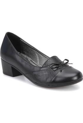 Polaris 72.158105.Z Siyah Kadın Gova Ayakkabı