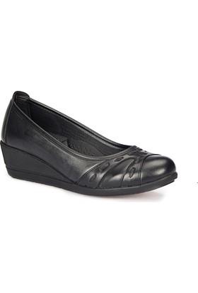 Polaris 72.158060.Z Siyah Kadın Anne Ayakkabısı