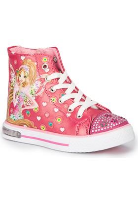 Winx Leyli-2 Fuşya Kız Çocuk Sneaker Ayakkabı