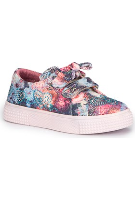 Pink Step Ster-1 Lacivert Kız Çocuk Sneaker Ayakkabı