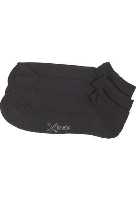 Kinetix Travıs Siyah Erkek Patik Çorap