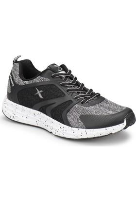 Kinetix Kyle Gri Mel Siyah Beyaz Kadın Koşu Ayakkabısı