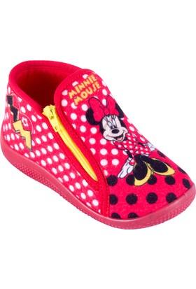Mickey Mouse 92060 B Kırmızı Kız Çocuk Panduf