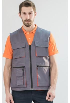Şensel İş Yeleği Çok Cepli Yazlık İş Elbisesi İş Güvenliği