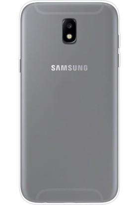 Gpack Samsung Galaxy J7 Pro 2017 Kılıf 2 mm Silikon Arka Kapak