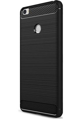 Gpack Xiaomi Mi Max 2 Kılıf Room Tarz Silikon Arka Kapak + Cam