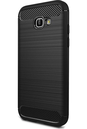 Gpack Samsung Galaxy C5 Pro Kılıf Room Tarz Silikon Arka Kapak + Cam