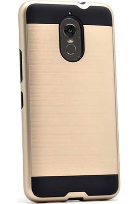 Gpack LG Stylus 3 Kılıf Darbe Emici Sert Arka Kapak + Cam