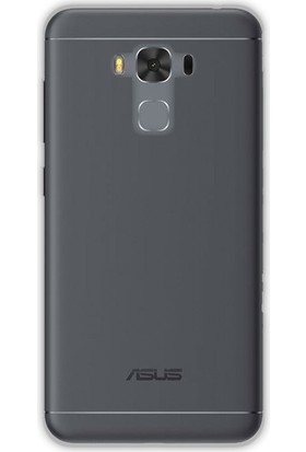 Gpack Asus Zenfone 3 Max ZC553 MaxKL Kılıf 2 mm Silikon Arka Kapak + Cam
