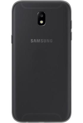 Gpack Samsung Galaxy J3 Pro 2017 Kılıf 2 mm Silikon Arka Kapak + Kalem + Cam