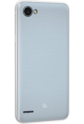 Gpack LG G6 Kılıf 2 mm Silikon Arka Kapak + Cam