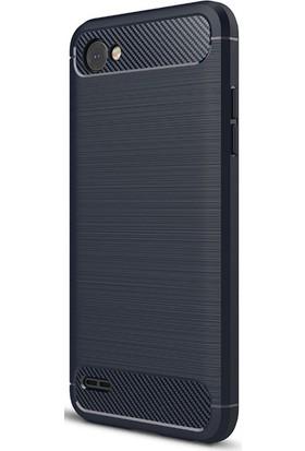 Gpack LG G6 Kılıf Room Tarz Silikon Arka Kapak + Cam
