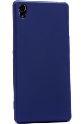 Gpack Sony Xperia Z2 Kılıf Premier Silikon Yumuşak Doku Case + Kalem + Cam
