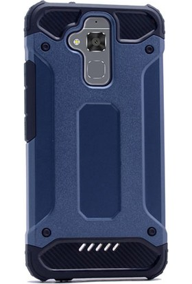 Gpack Asus Zenfone 3 Max ZC520TL Kılıf Darbe Emici Sert Crash Kapak + Kalem + Cam