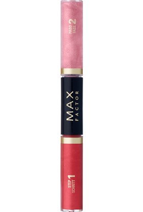 Max Factor Lipfinity Colour & Gloss Ruj ve Renkli Parlatıcı 510 Radiant Rose