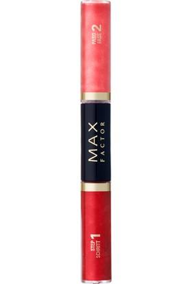 Max Factor Lipfinity Colour & Gloss Ruj ve Renkli Parlatıcı 560 Radiant Red