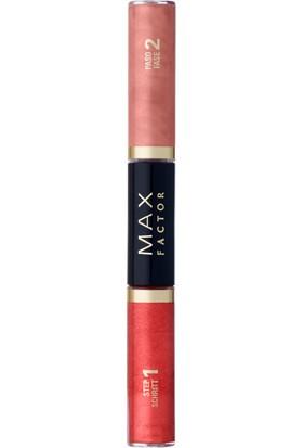 Max Factor Lipfinity Colour & Gloss Ruj ve Renkli Parlatıcı 570 Gleaming Coral