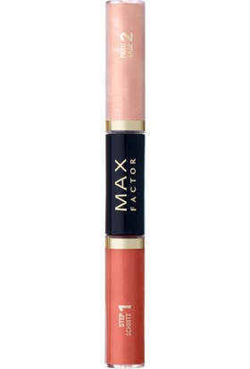 Max Factor Lipfinity Colour & Gloss Ruj ve Renkli Parlatıcı 590 Glazed Caramel