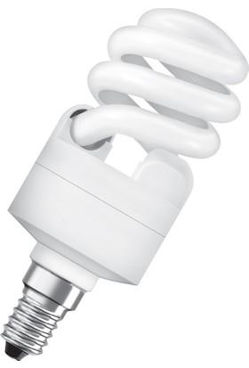 Osram 12W E14 Tasarruflu Warm White-Sarı