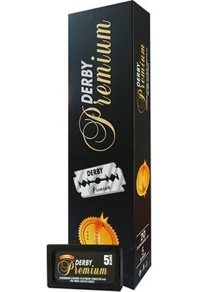 Derby Premium Tıraş Bıçağı 1 Paket/100 Adet İsveç Çeliği Jilet