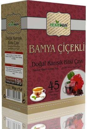 Hekimhan Bamya Çiçekli Karışık Bitki Çayı