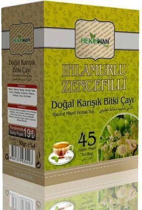 Hekimhan Ihlamurlu Zencefilli Karışık Bitki Çayı