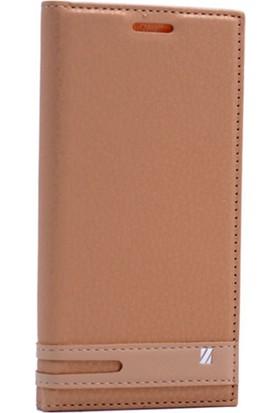 Case Man Htc Desire 825 Kılıf Elegant Kapaklı + Hijyenik Cep Bakım Kiti