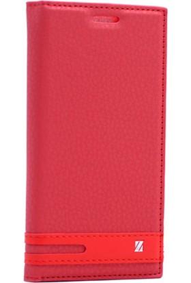Case Man Htc Desire 825 Kılıf Elegant Kapaklı + Temperli Cam + Cep Bakım Kiti