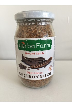 Herbafarm Glutensiz Öğütülmüş Keçiboynuzu 200 gr.