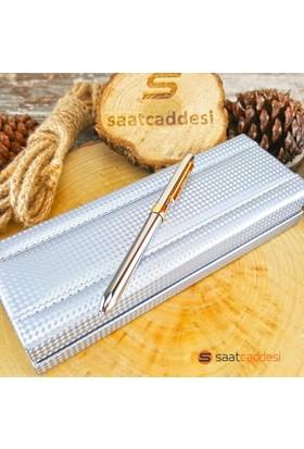 Steelpen 3 Fonksiyonlu Metal Renk Steel Pen Kalem