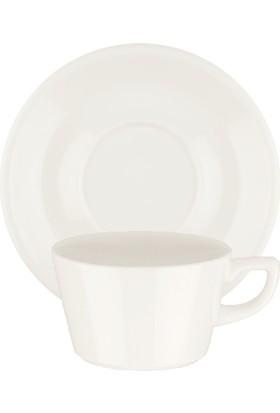 İkram Dünyası Bonna Core Kahve Fincanı Ve Tabağı 6'Lı 250 cc