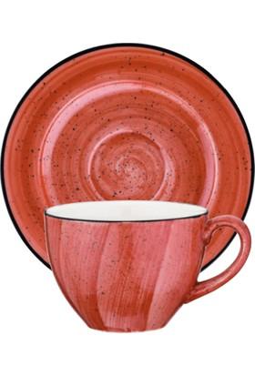 İkram Dünyası Bonna Passion Rita Çay Fincan ve Tabağı 6'Lı