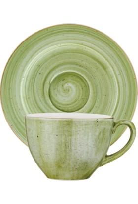 İkram Dünyası Bonna Therapy Rita Çay Fincan ve Tabağı 6'Lı